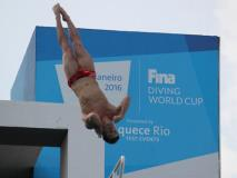 David Boudia Excited to Experience Olympics as a Father