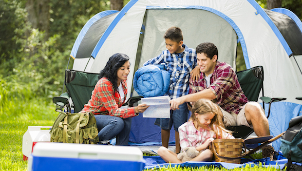 Beginner's Guide to Family Camping