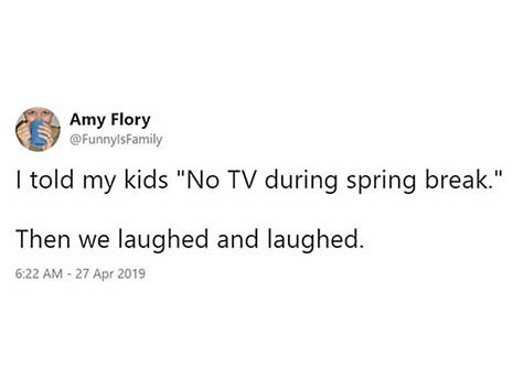 Spring Break Tweets That Are All Too Real