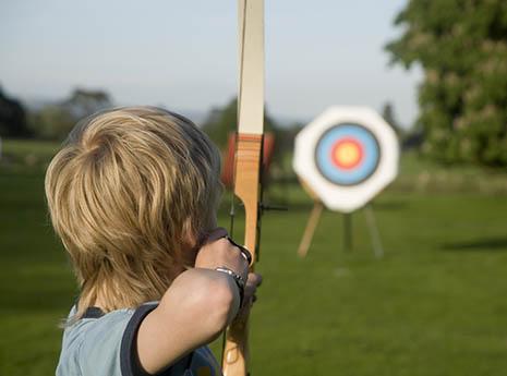 Archery front
