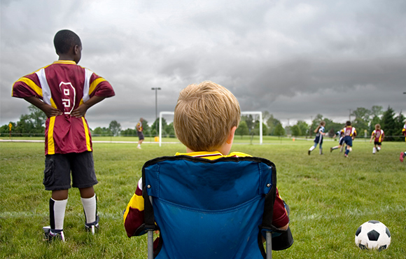 While some parents like to pace up and down the sidelines 99facc0e75688