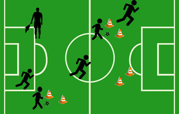 4 Drills to Improve Soccer Dribbling | ACTIVEkids