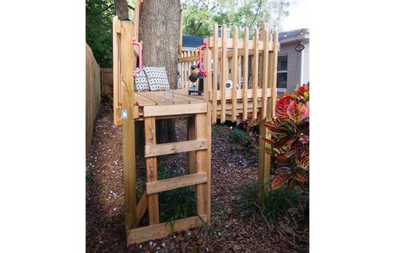Basic Fort   10 Incredible DIY Backyard Forts For Kids ACTIVEkids