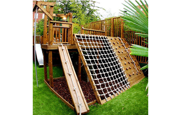 Ropes Fort - 10 Incredible DIY Backyard Forts For Kids ACTIVEkids