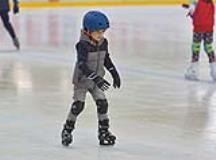 Winter Sports for Kids Inside the Ice Rink