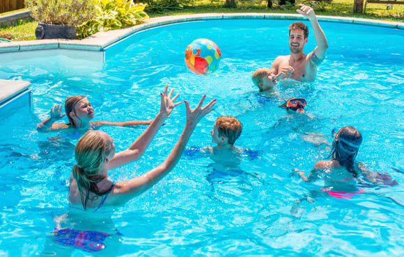 9a455a2d5e276 The goal of Air Ball is to keep a beach ball in the air and not let it  touch the water. Kids love to play this game with balloons at their  friends' ...
