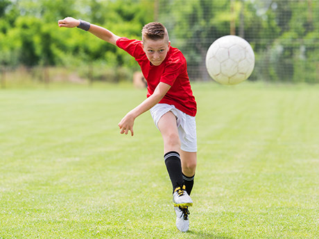 are sports equipment advertisements aimed at teenager ethical