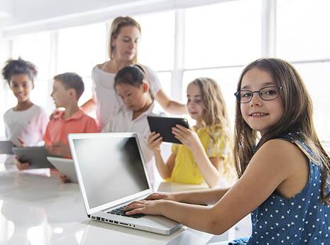 Kid+at+a+computer front