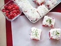 Recipe: Berry, Mint and Chocolate Rice Cakes