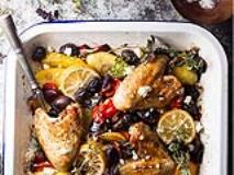 Recipe: Greek Chicken Sheet Pan Dinner