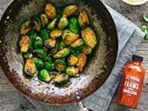 Recipe: Honey and Sriracha Glazed Brussels Sprouts