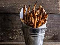 Recipe: Spicy Baked Sweet Potato Fries