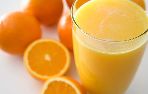 orange juice vs sports drink data