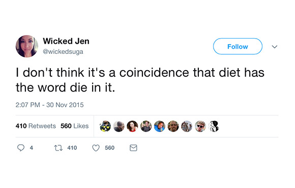 The 25 Funniest Tweets About Dieting   ACTIVE