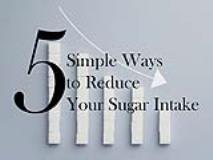 5 Simple Ways to Reduce Your Sugar Intake