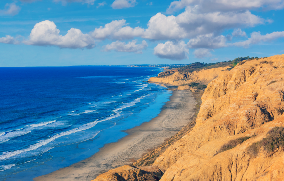 Parry Grove Trail Torrey Pines State Natural Reserve