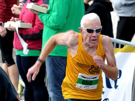 Profiling the Boston Marathon's Octogenarian Runners