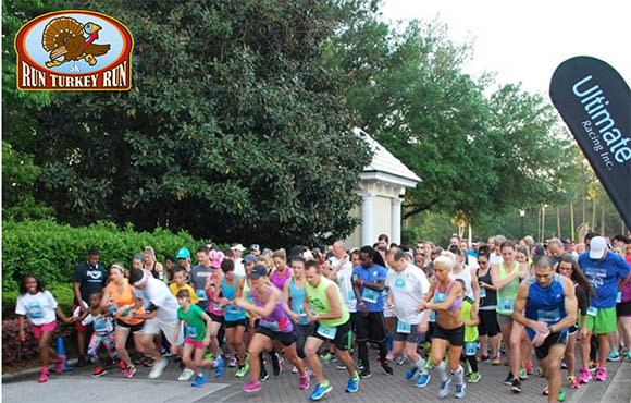 Turkey Trots in the South   ACTIVE
