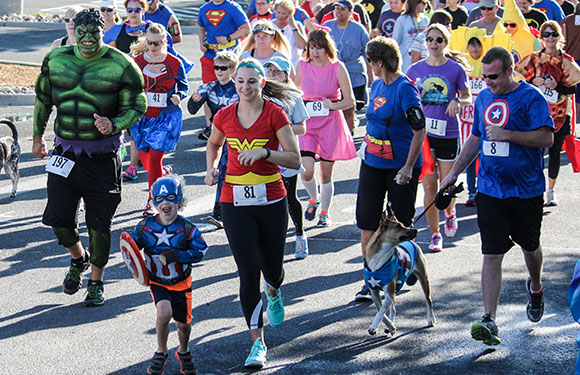Arlingtons Fourth Annual Superhero 5K Combines Great Fun With A Cause The Race Encourages Participants To Dress Up As Their Favorite Superheroes And