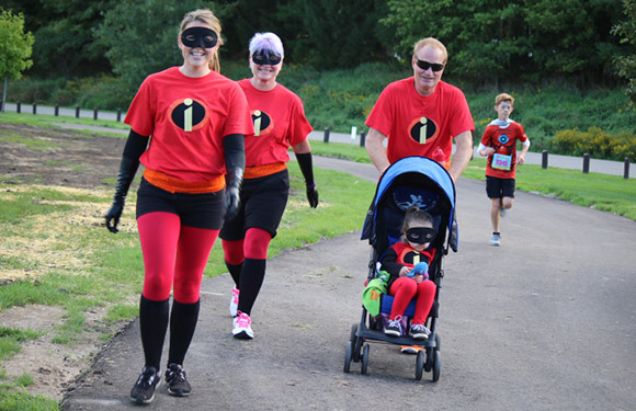 adc54d91 Incredibles Family. The Super Run ...