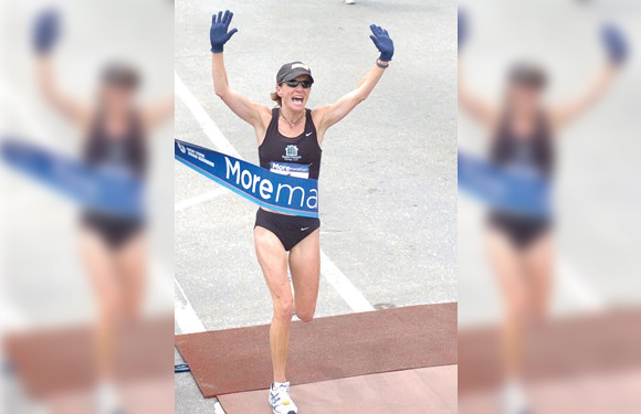 Susan Loken was the winner of the 2002 Tucson Marathon, the 2005 Vermont City Marathon and the 2005, 2006 and 2007 More Marathons. (26.Two Productions)