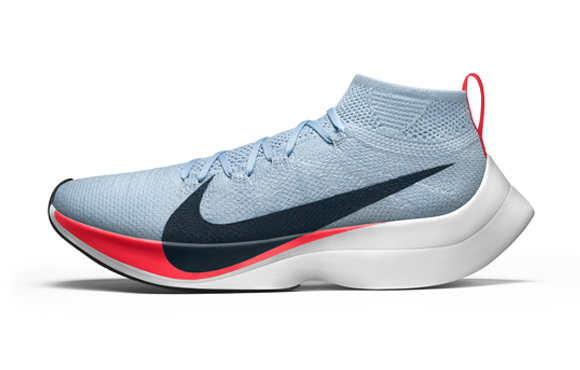 2d0d0f238c6 Will this be the shoe on the feet of the first person to run a marathon in  less than two hours  Nike hopes so. The footwear and apparel titan  specifically ...