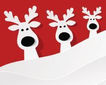 Reindeer desktop
