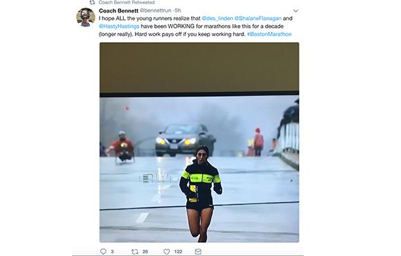 The Best Tweets From the Boston Marathon