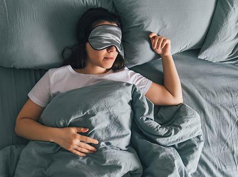 Sleeping-front