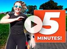 Make Running Easier in 5 Minutes