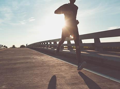 Man+running front