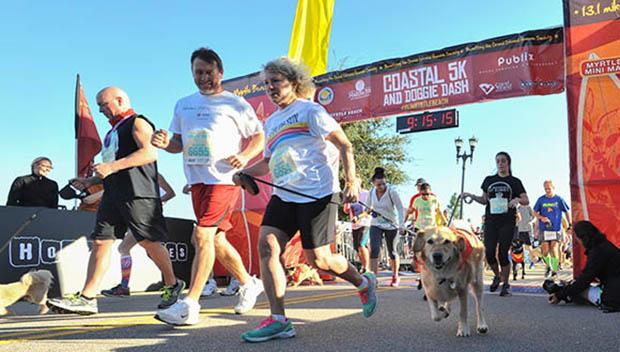 Myrtle Beach doggie dash