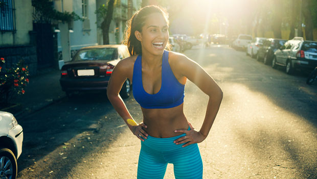 women-in-blue-sports-bra-running