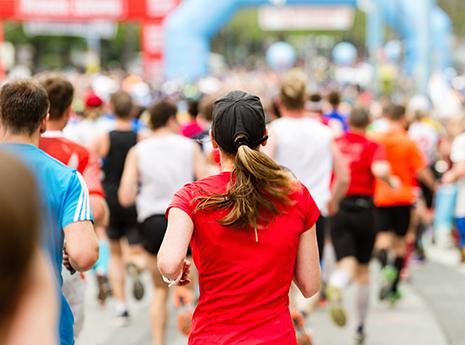 Marathon front