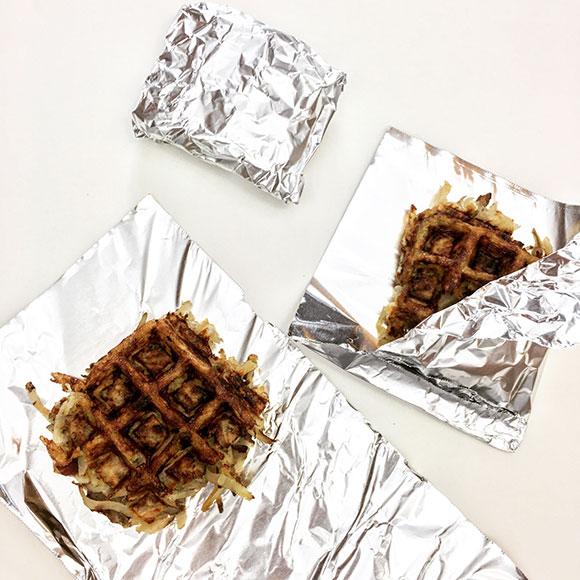 Waffle-Wrapped