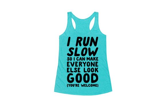 run slow shirt-4