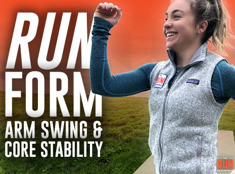 How to Improve Your Running Form With Arm Swing and Core Stability