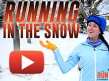Running in the Snow With Ultrarunner Abby Levene