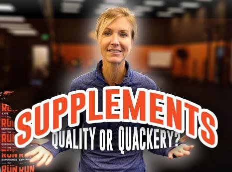 Sports Supplements: Quality vs. Quackery