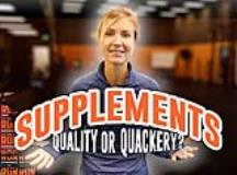 Sports Supplements: Quality vs. Quackery