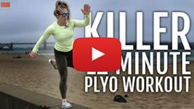 Follow-Along Tabata Plyometric Workout