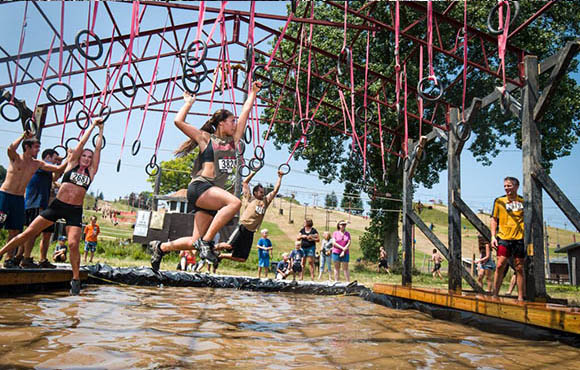 This Race Isnu0027t Just Another Obstacle Course. Yes, It Has The Standard  Stuff Like Slides And Objects To Climb, But It Also Has Fire Pits And  Trampolinesu2014and ...