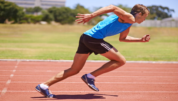 how to run faster with less work active