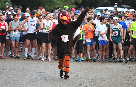 Participate in a Turkey Trot