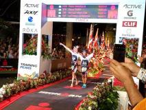 Blind Triathlete Michael Somsan Fulfills a Lifelong Vision with Kona IRONMAN Finish