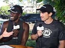 Breakfast With Bob From the IRONMAN World Championship: Roderick Sewell and Rudy Garcia-Tolson