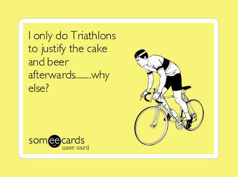 29 Seriously Funny Triathlon Memes