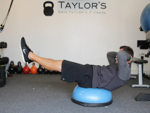 Bosu and Stability Ball Core Exercises for Triathletes and Cyclists