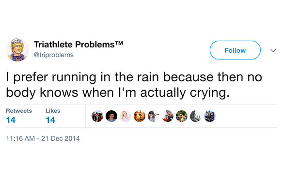 The 29 Funniest Tweets About Triathlon | ACTIVE