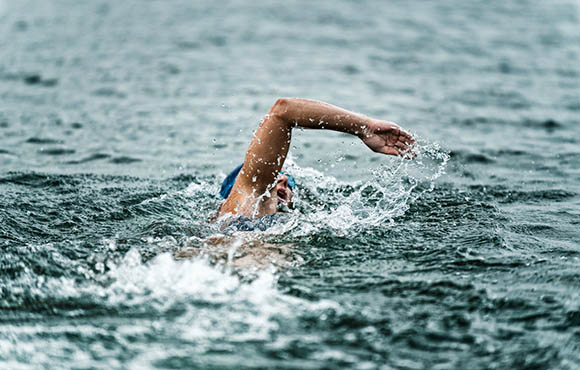 open water swimming strokes